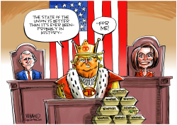State of Trump's Union by Dave Whamond