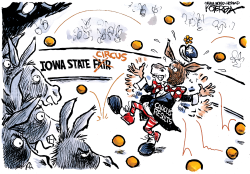 Caucus or Circus? by Jeff Koterba