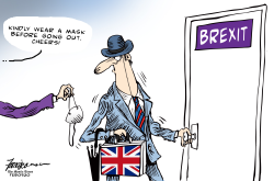 Brexit but wear a mask by Manny Francisco