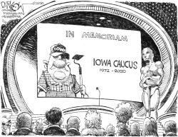 Iowa carcass by John Darkow