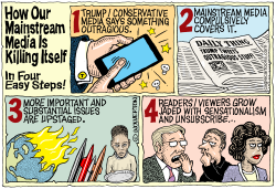 Mainstream Media Killing Itself by Monte Wolverton