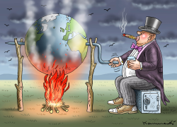 Global Warming by Marian Kamensky
