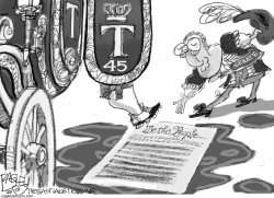 Constitutional Protection by Pat Bagley
