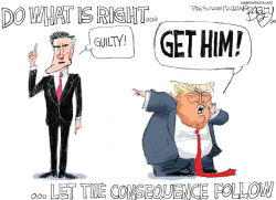 Mitt's Courage by Pat Bagley