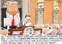 LOCAL Trump Toadies by Pat Bagley