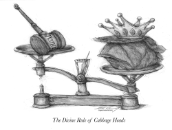 The Divine Rule of Cabbage Heads by Dale Cummings