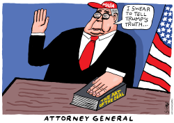 William Barr attorney general by Schot