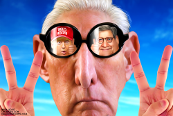 Clear Vision Roger Stone by Bart van Leeuwen