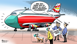 Air travel and virus by Paresh Nath
