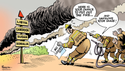 South Africa and AU by Paresh Nath