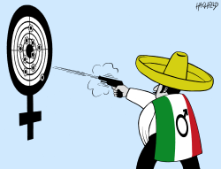 Feminicide in Mexico by Rainer Hachfeld
