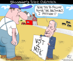 Bloomberg and Farmers by Gary McCoy