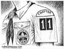 Boy Scouts Chapter 11 by Dave Granlund