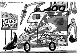 National Monuments by Pat Bagley
