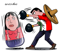 Femicides in Mexico by Arcadio Esquivel