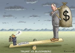 Trump vs Bloomberg by Marian Kamensky
