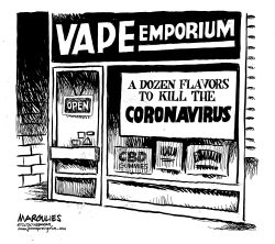 Flavored Vaping and Coronavirus by Jimmy Margulies
