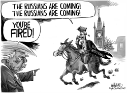 Russians Are Coming Again by Dave Whamond