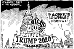 Russia for Trump by Monte Wolverton