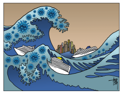 The Great Wave by Arend van Dam