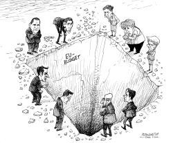 Brexit hole by Petar Pismestrovic
