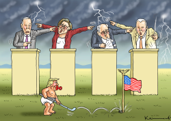 Nevade Democratic Debate by Marian Kamensky