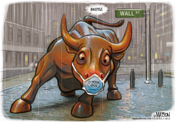 Corona Virus Affects Bull Market by R.J. Matson