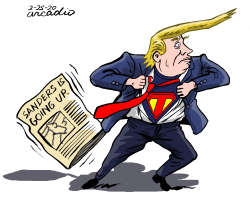 Super Trump. by Arcadio Esquivel