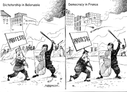 Hard Times in Belorussia  and France by Petar Pismestrovic