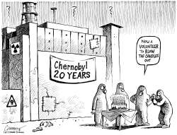CHERNOBYL 20 YEARS AFTER by Patrick Chappatte