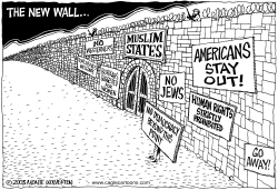 The new wall by Wolverton