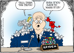 General Hayden by Bob Englehart