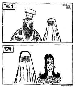 Osama Burka by Mike Lane