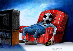 World Cup Spectator by Petar Pismestrovic