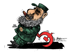 FIDEL CASTRO by Manny Francisco