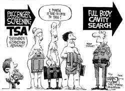 TSA Asks The Probing Questions by John Darkow