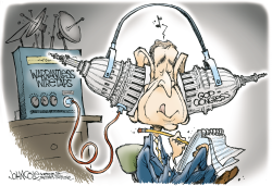 Wiretapping -- color by John Cole