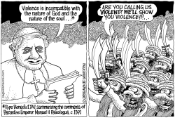 The Pope vs Islam by Wolverton