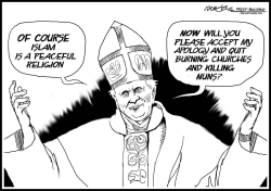 Pope apology by J.D. Crowe