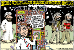 Bush Terrorist Machine  by Wolverton
