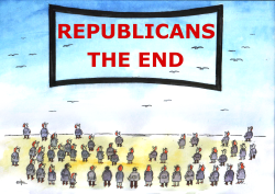 Republicans in trouble by Pavel Constantin