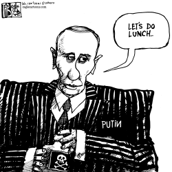 Lunch with Putin by Tab