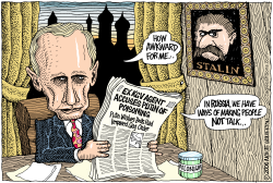 Putin and Polonium  by Wolverton
