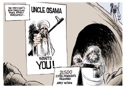 Bush New Iraq Plan by Paul Zanetti