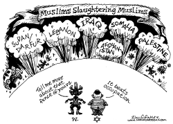 Muslims Slaughtering Muslims by Huffaker