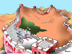 Great WALL STREET of China by Paresh Nath