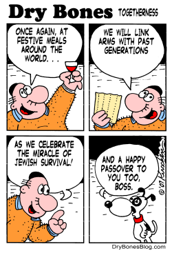 Passover Togetherness by Yaakov Kirschen