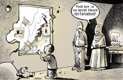 4 Years Of War In Iraq by Patrick Chappatte