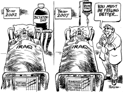 Iraq then and now by Paresh Nath