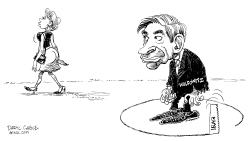 Wolfowitz by Daryl Cagle